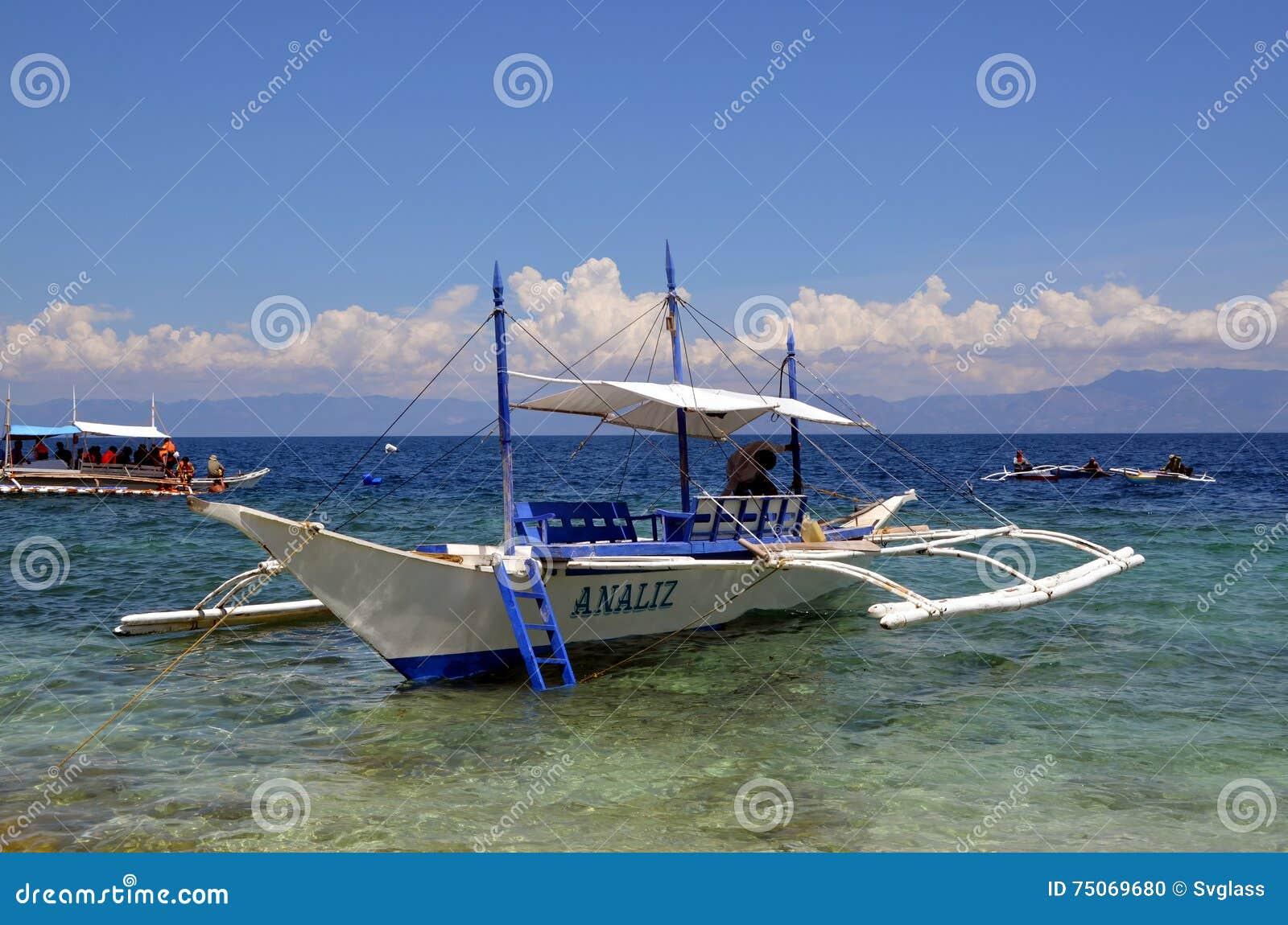 Bangka boat in the ocean editorial image. Image of ocean - 75069680
