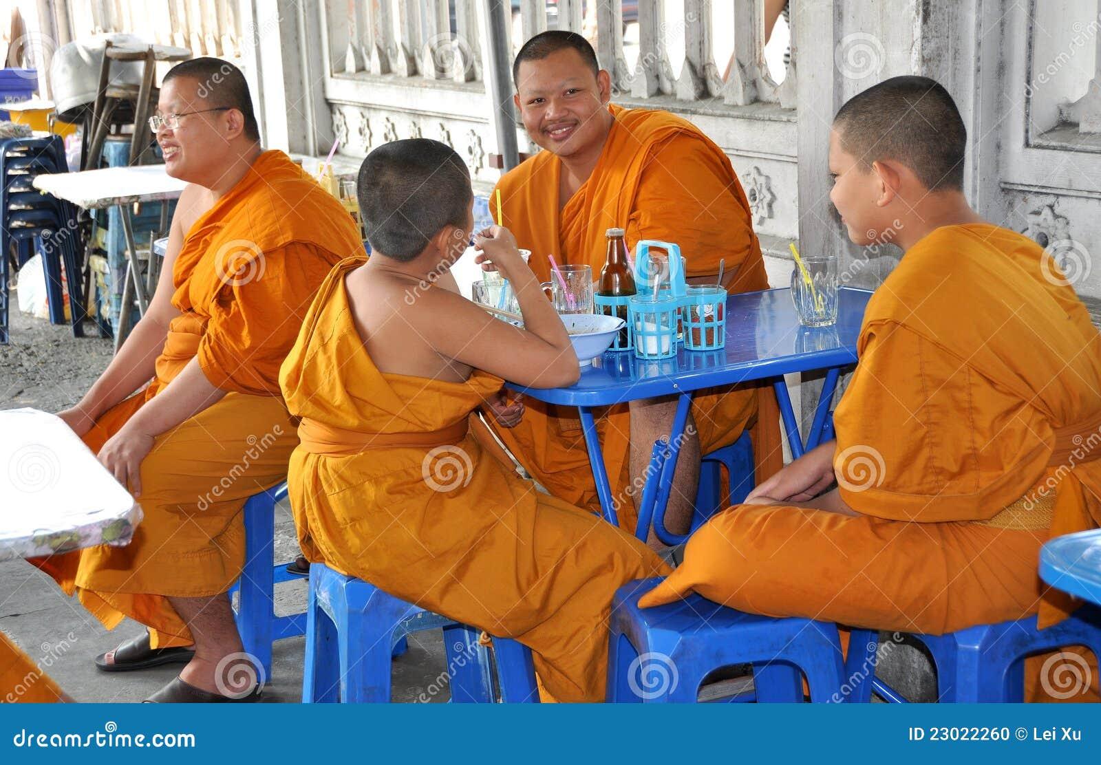 Bangkok łasowania lunchu michaelita Thailand
