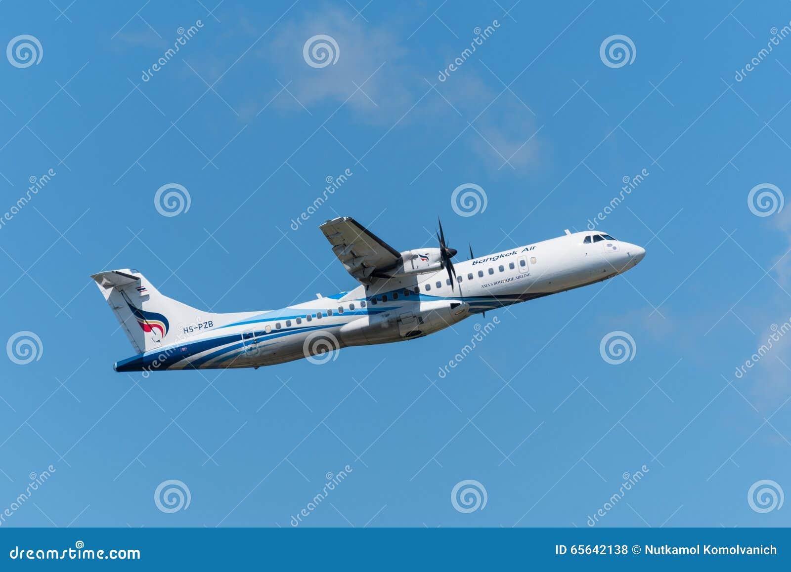 Bangkok Airways décollent de l aéroport de Phuket
