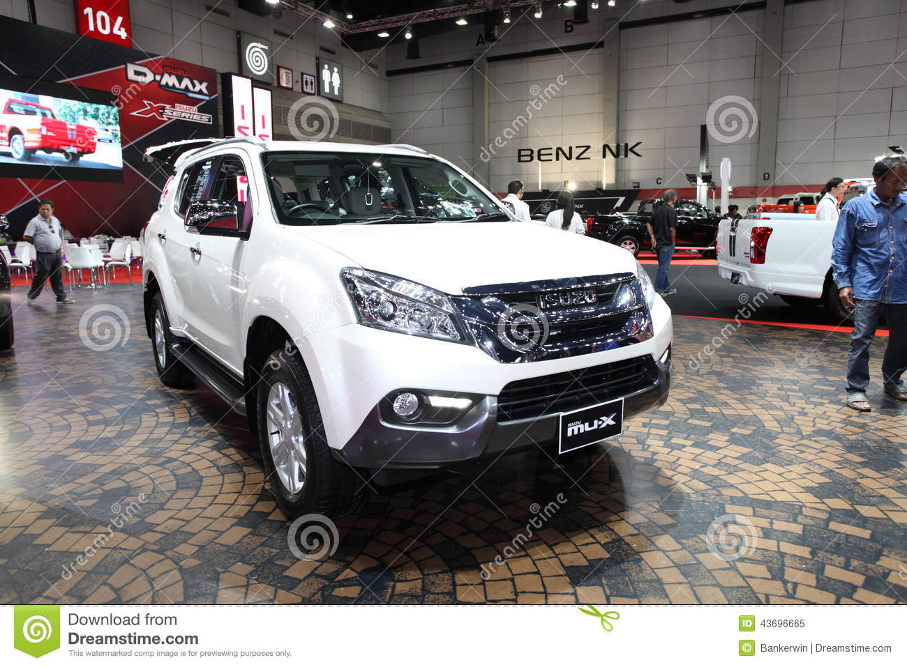BANGKOK August Isuzu MUX Car On Display At Big Motor Sale - Car show displays for sale