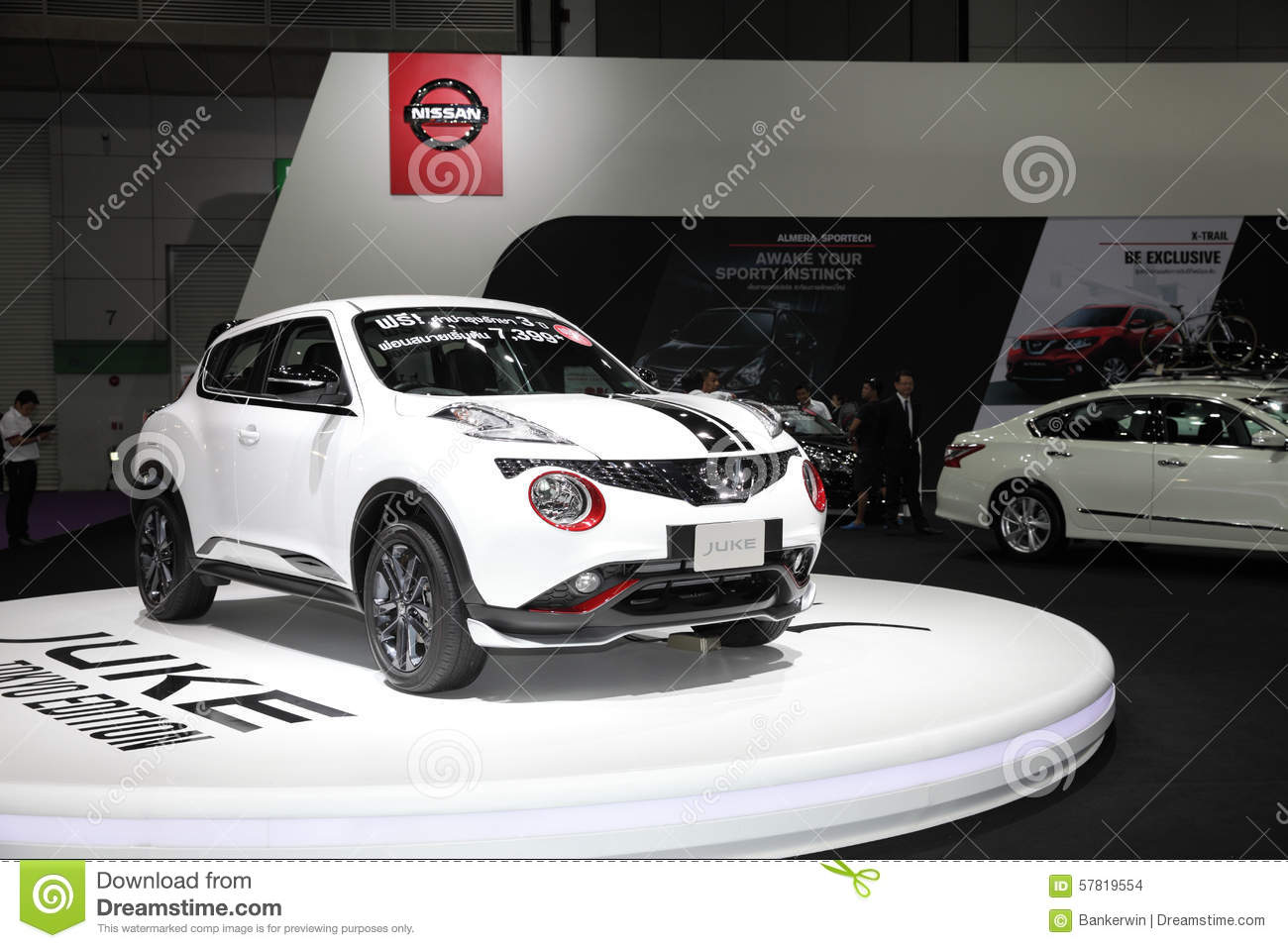 BANGKOK August Nissan Juke Tokyo Edition Car On Display At - Car show displays for sale