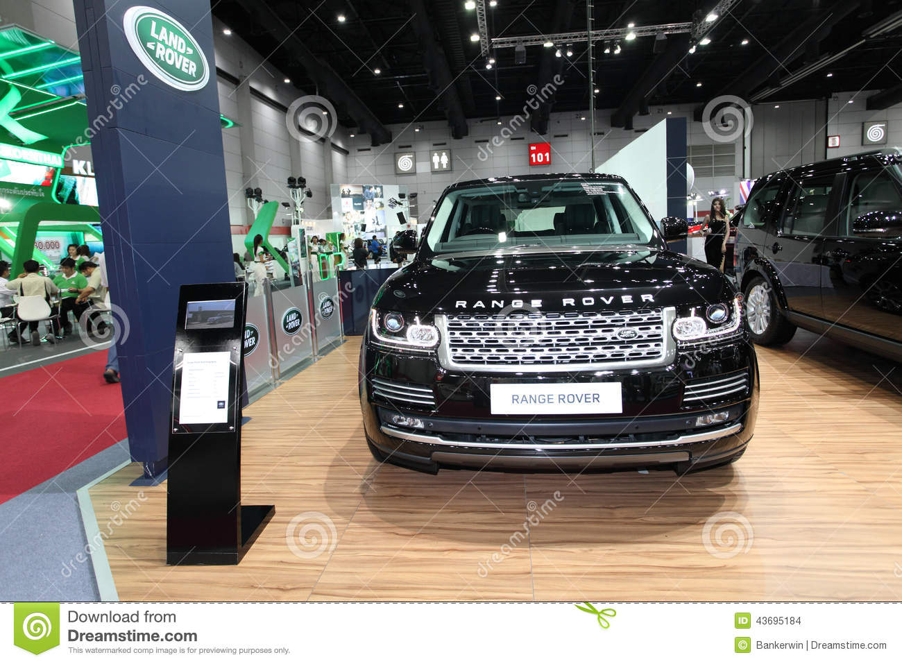 BANGKOK August Range Rover Car On Display At Big Motor Sal - Car show displays for sale