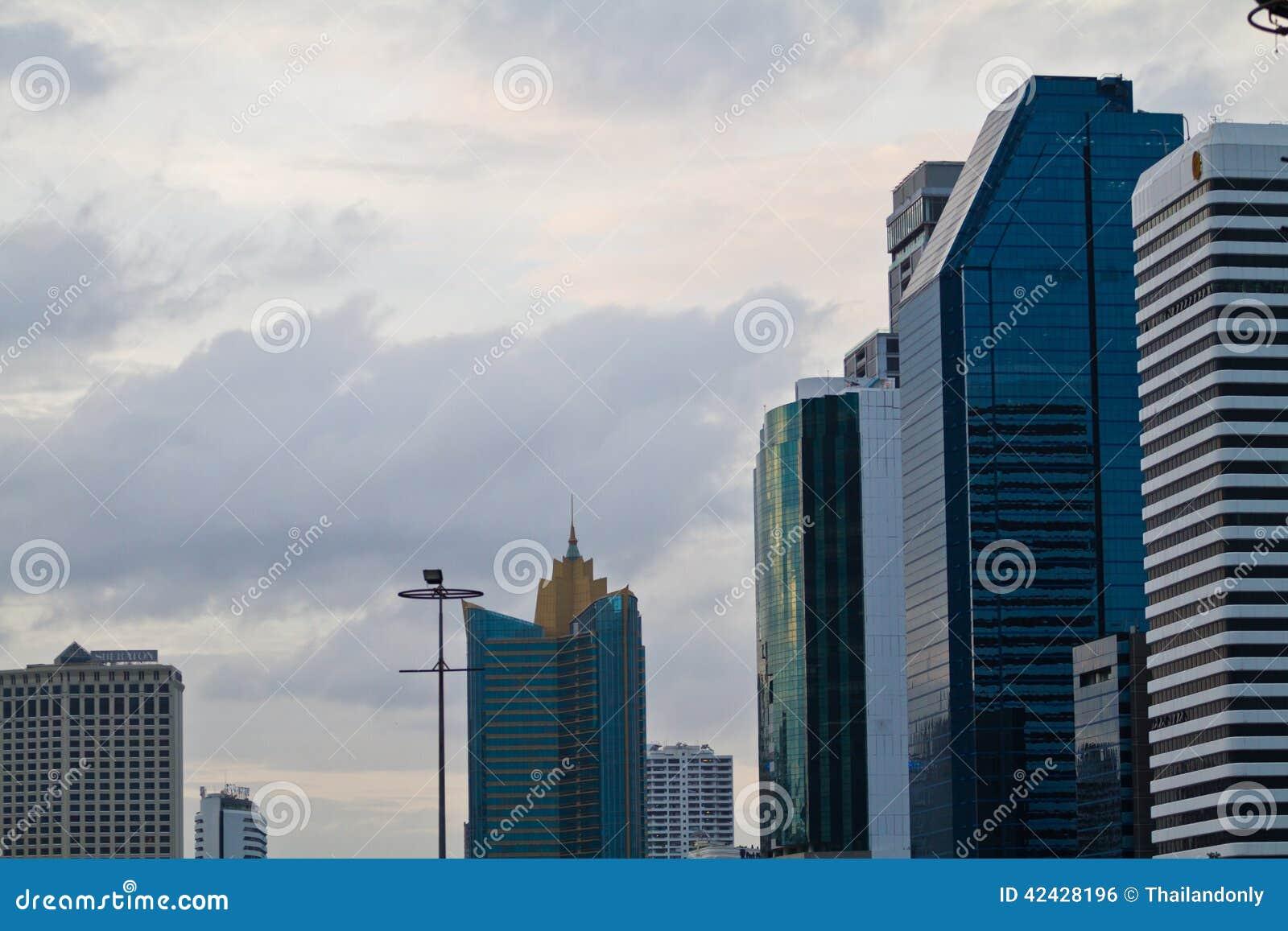 Bangkok, capital de Tailandia en la tarde