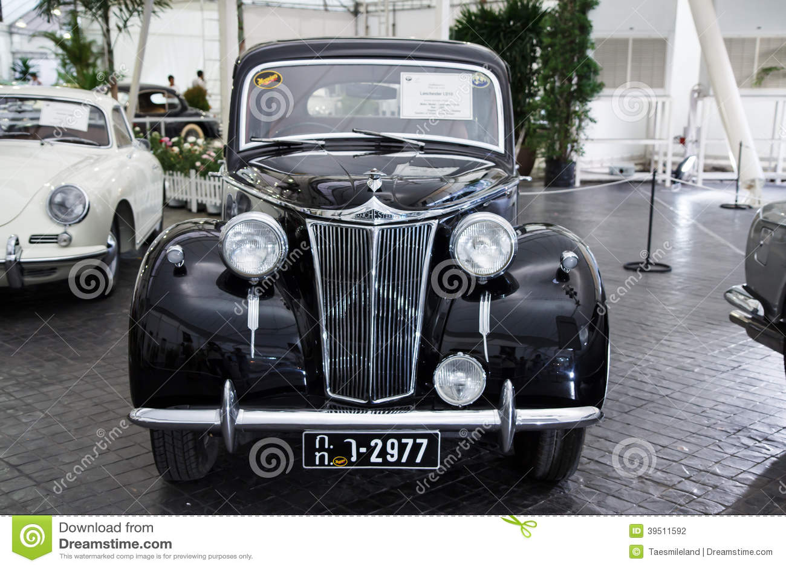 BANGKOK - JUNE 22 Lanchester LD10 1947 on display at The 36th Ba