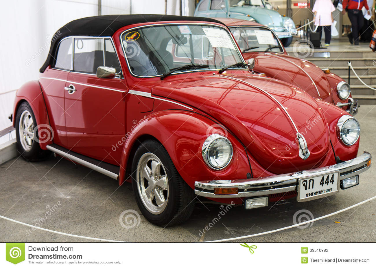 BANGKOK - JUNE 22 Volkswagen Beetle on display at The 36th Bangkok Vintage Car Concours on June 22, 2012 in Bangkok, Thailand