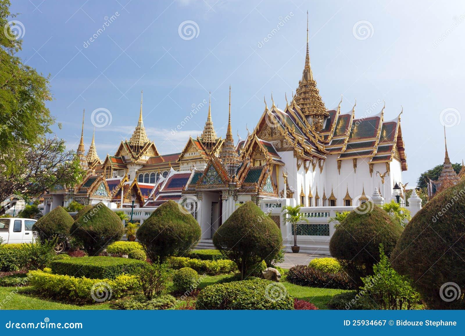 Bangkok k niglicher palast stockbild bild von golden for Grosartig grafgarten