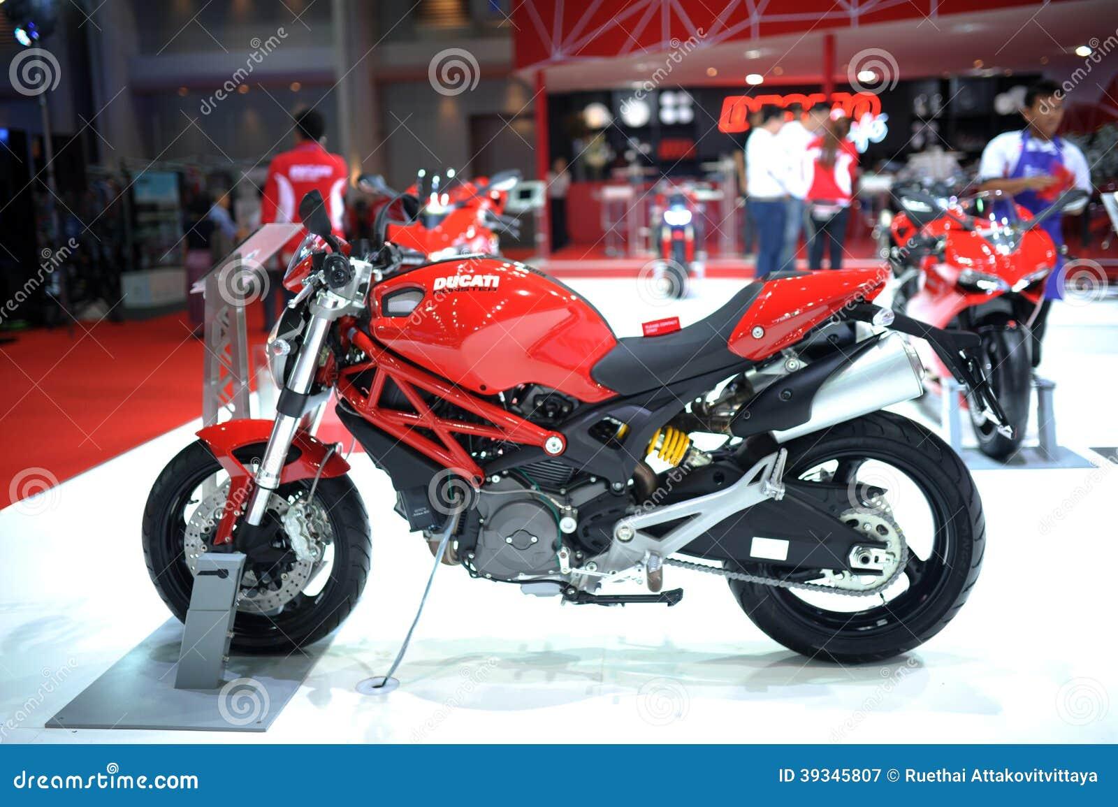 Bangkok March 24 Ducati Superbike Motorbike Editorial