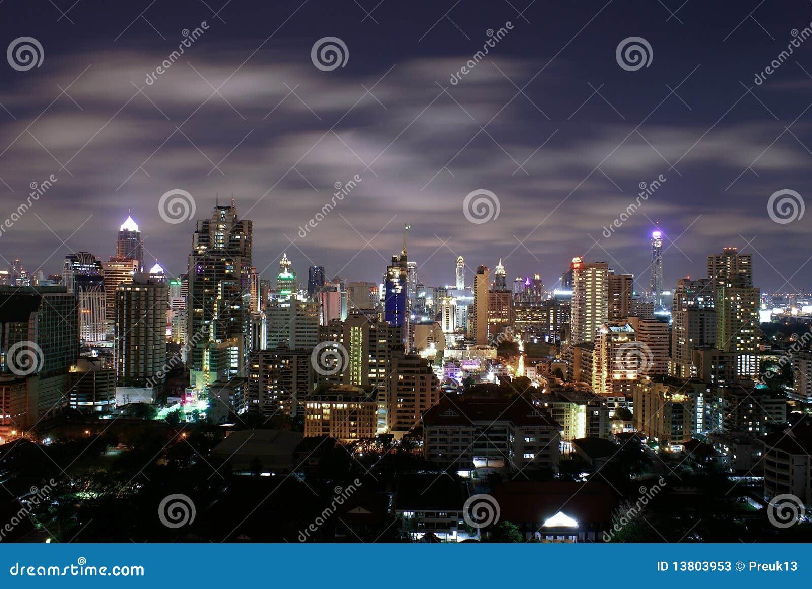 Bangkok natt