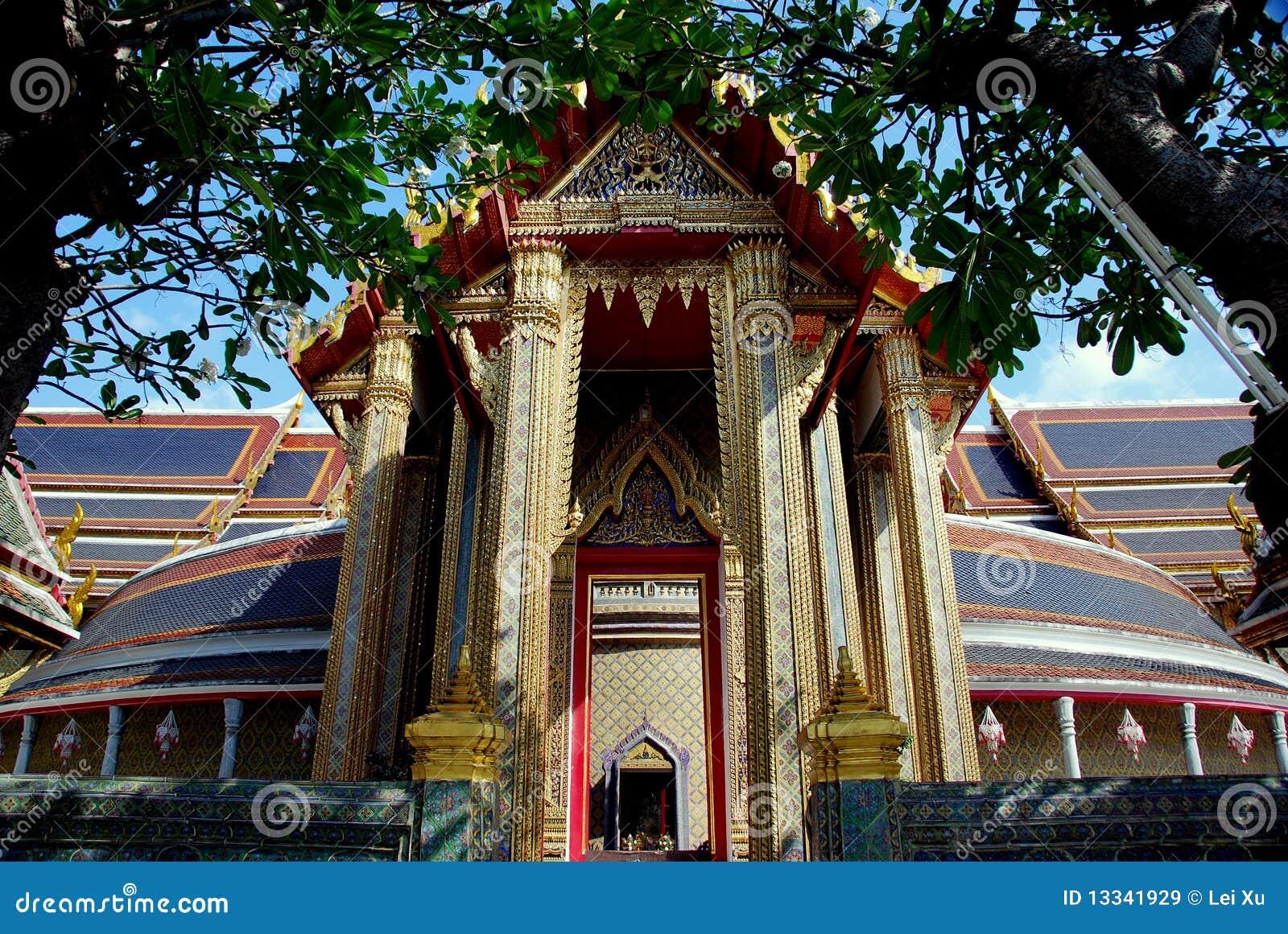Bangkok ratchapopit świątynny Thailand wat
