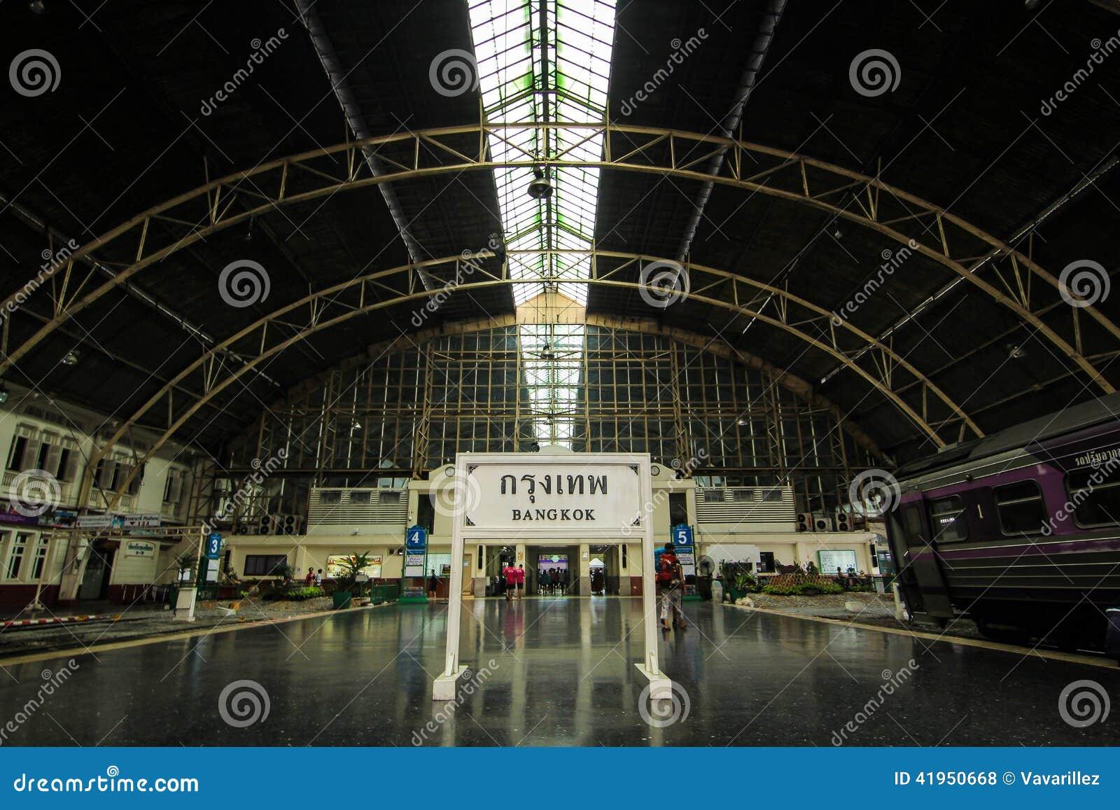 Bangkok stacja kolejowa