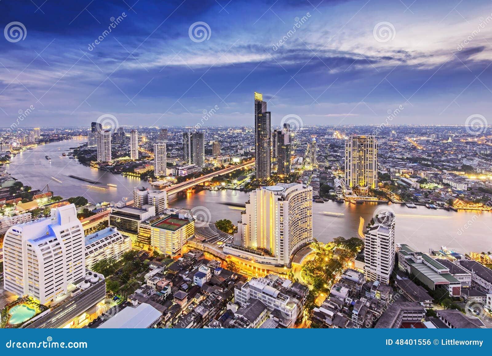 Bangkok stadsnatt