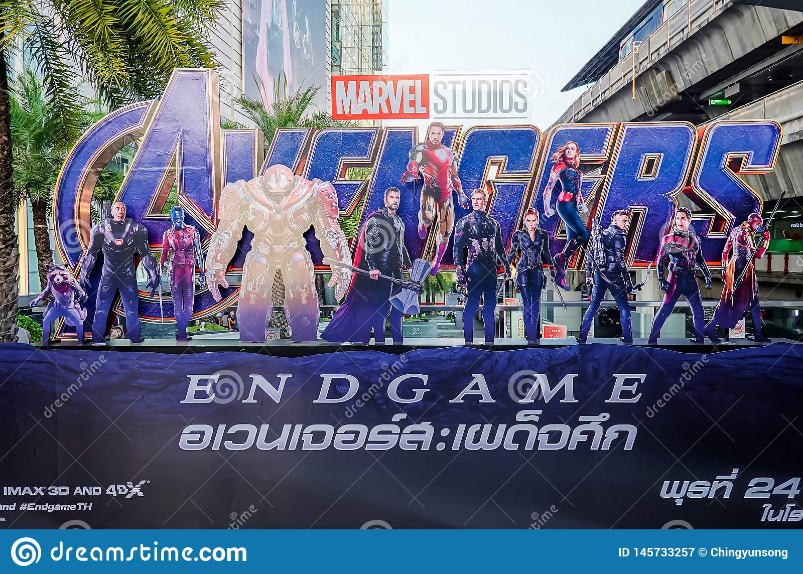 Avengers Endgame poster displayed; The Avengers, is a American superhero film based on the Marvel Comics