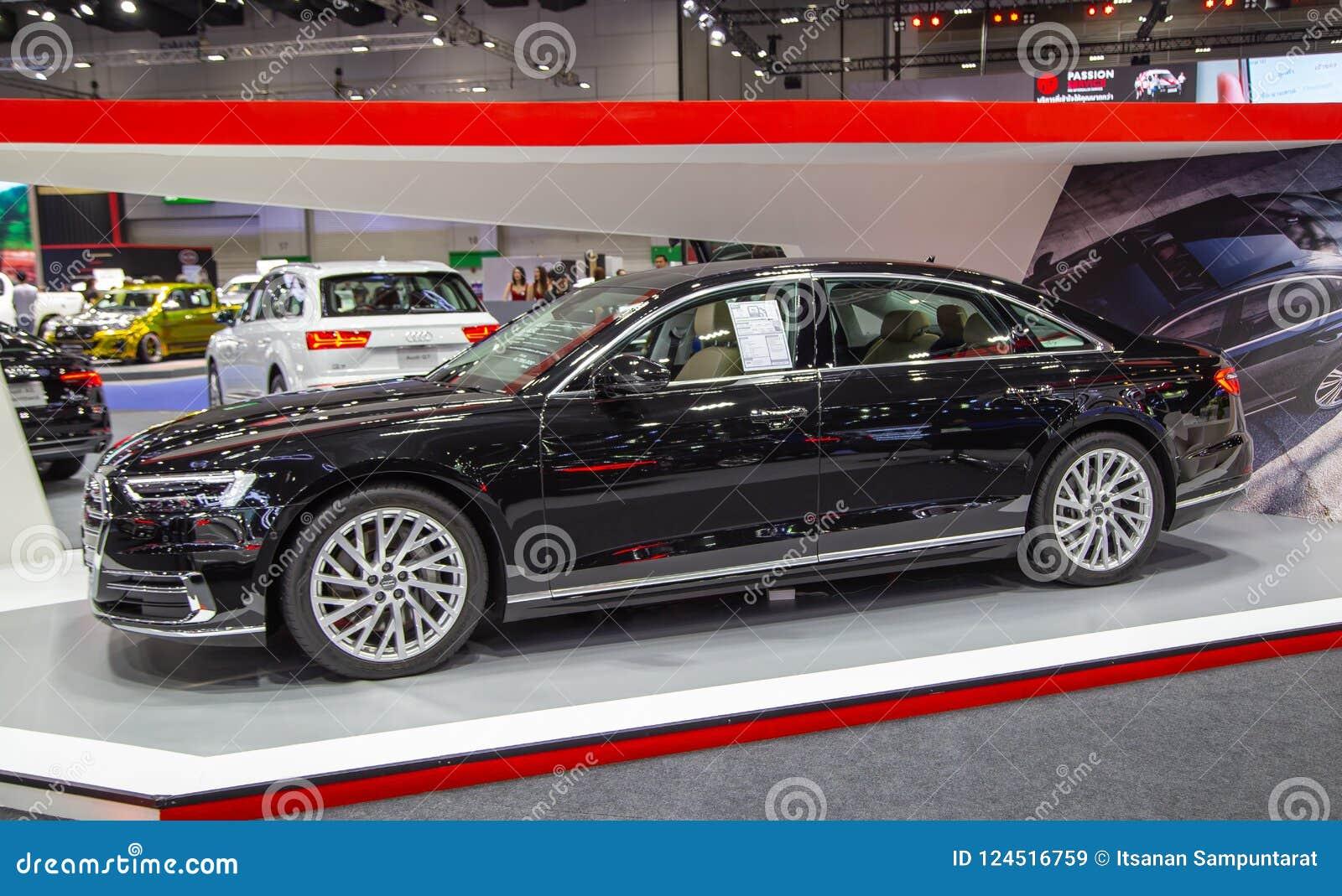 2019 Audi A8 Sedan editorial stock image  Image of event - 124516759