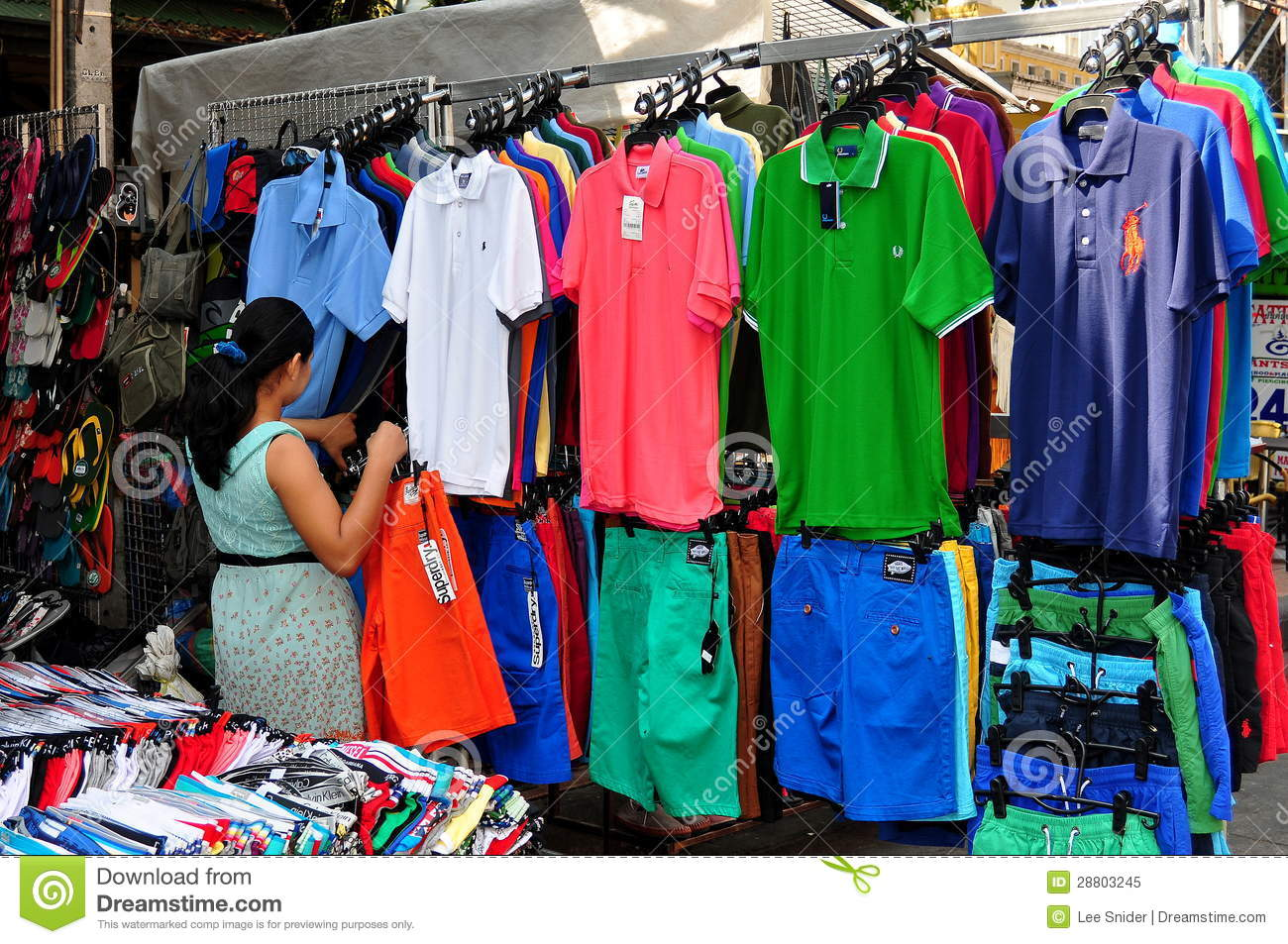 Clothing stores in bangkok