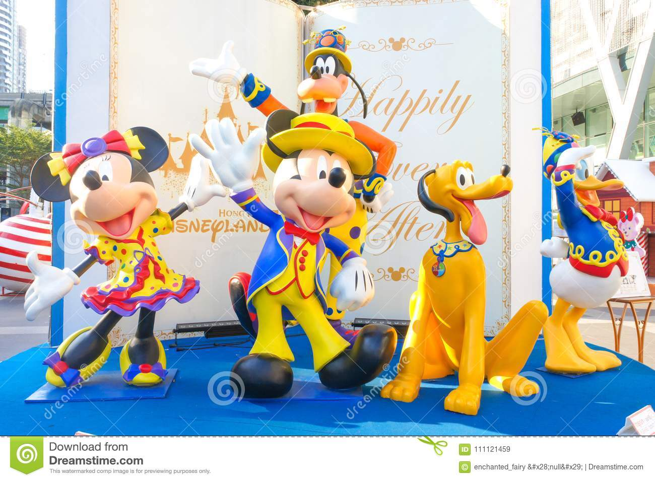 Mickey Mouse And His Disney Friends Editorial Stock Image