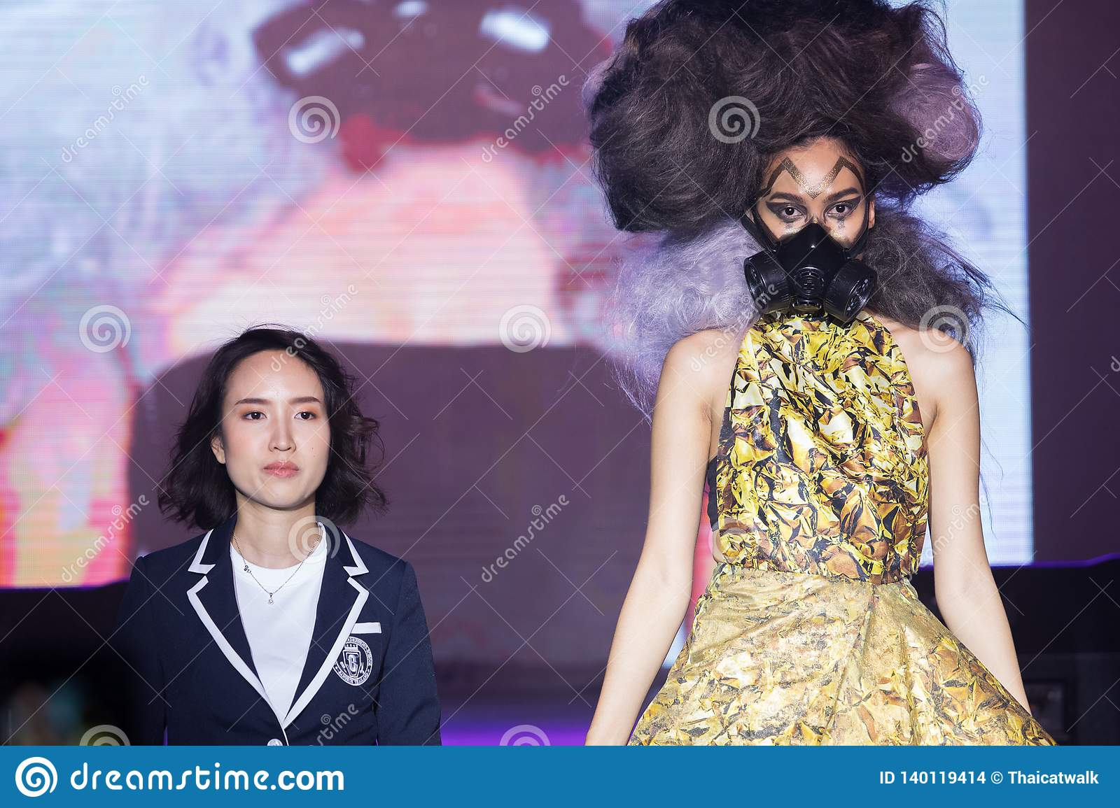 Chalachol Academy Hair Passion Fashion Show 2019 Editorial Stock Image Image Of Evening 2019 140119414
