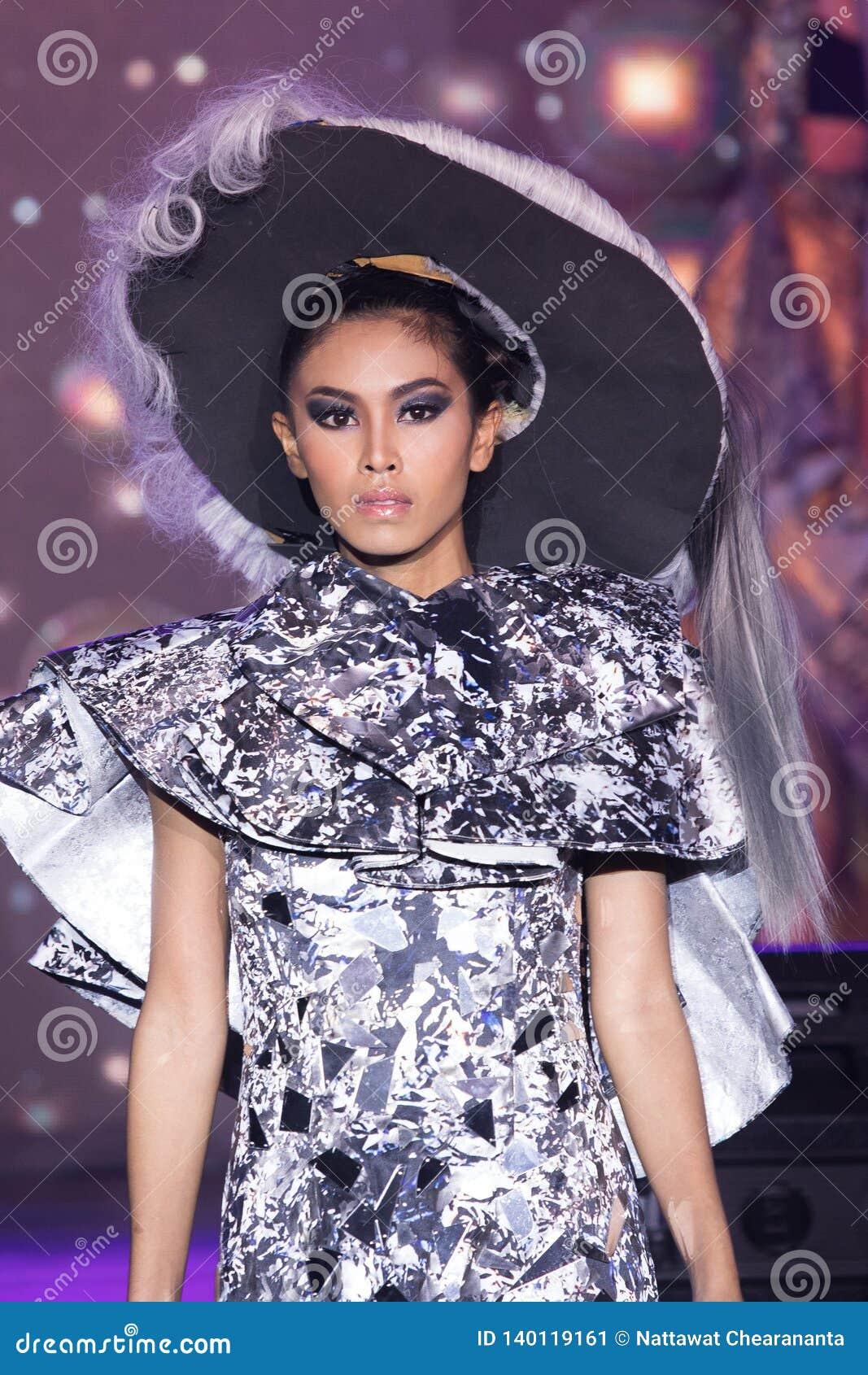Chalachol Academy Hair Passion Fashion Show 2019 Editorial Photo Image Of Chic Bangkok 140119161