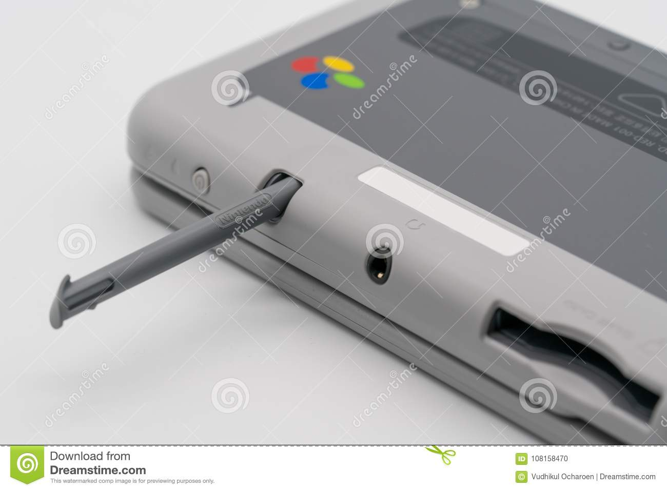 b122d1f6966 Nintendo 3DS LL Stylus Super Famicom Edition. Portable Game By N ...