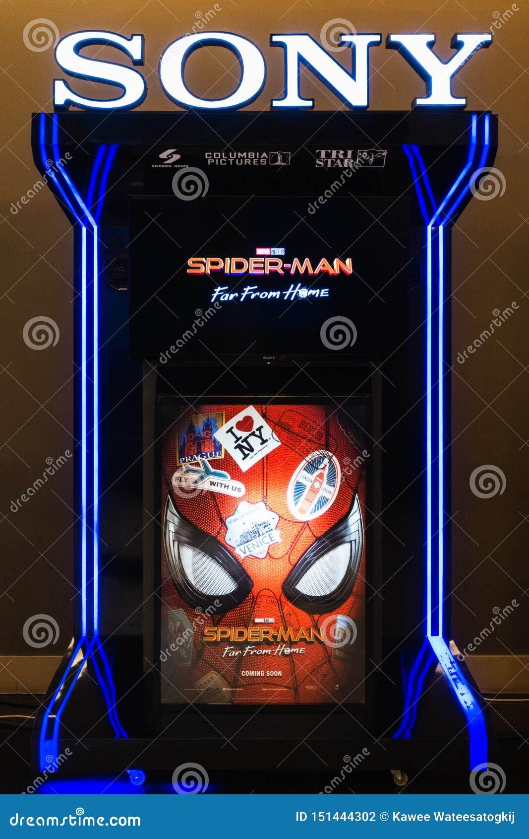 m.a.s.k movie 2019 trailer Bangkok Thailand Jun 24 2019 Spider Man Far From Home