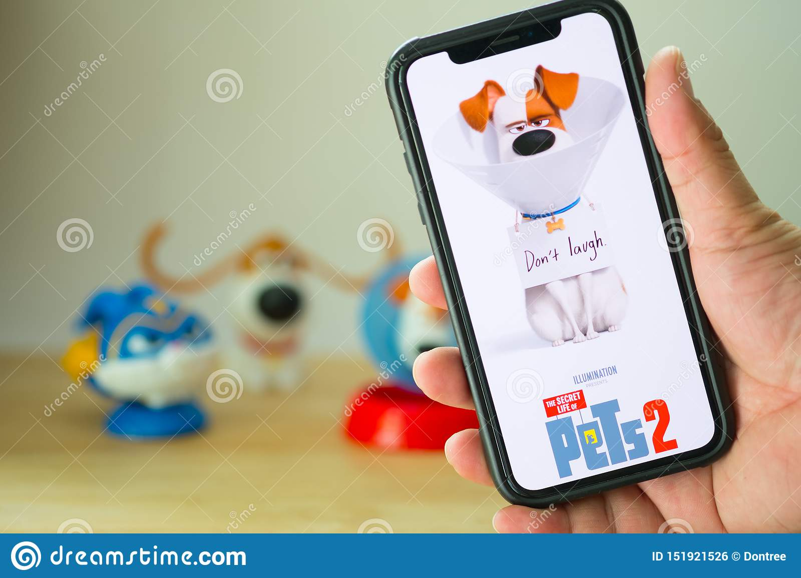 Bangkok Thailand June 2 2019 The Secret Life Of Pets 2 Movie Is An American 3d Comedy Film Produced By Illumination Entertai Editorial Photo Image Of American Director 151921526