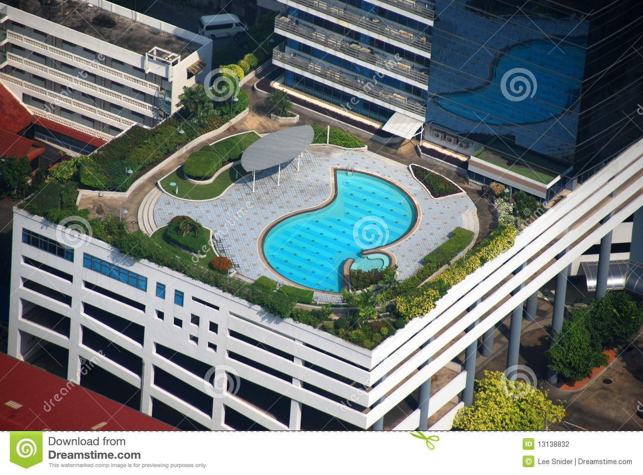 Best Hotels Pool Deck : Bangkok, Thailand: Luxury Hotel Rooftop Pool Stock Photography - Image ...