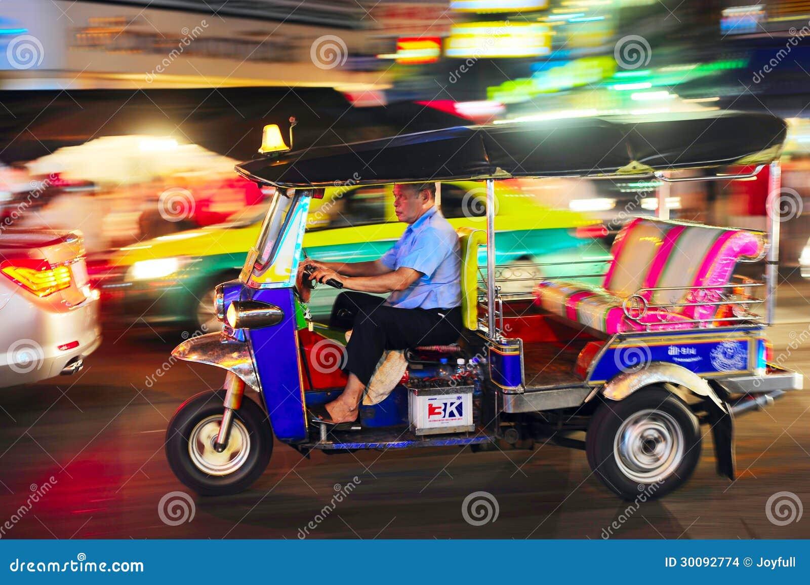 bangkok taxi editorial stock image image of ride capital 30092774. Black Bedroom Furniture Sets. Home Design Ideas