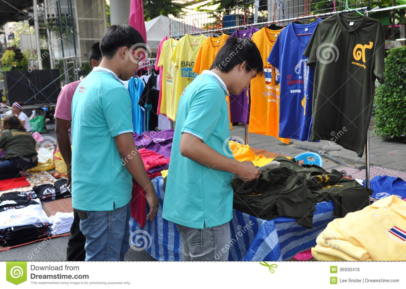 Clothes Shopping Men