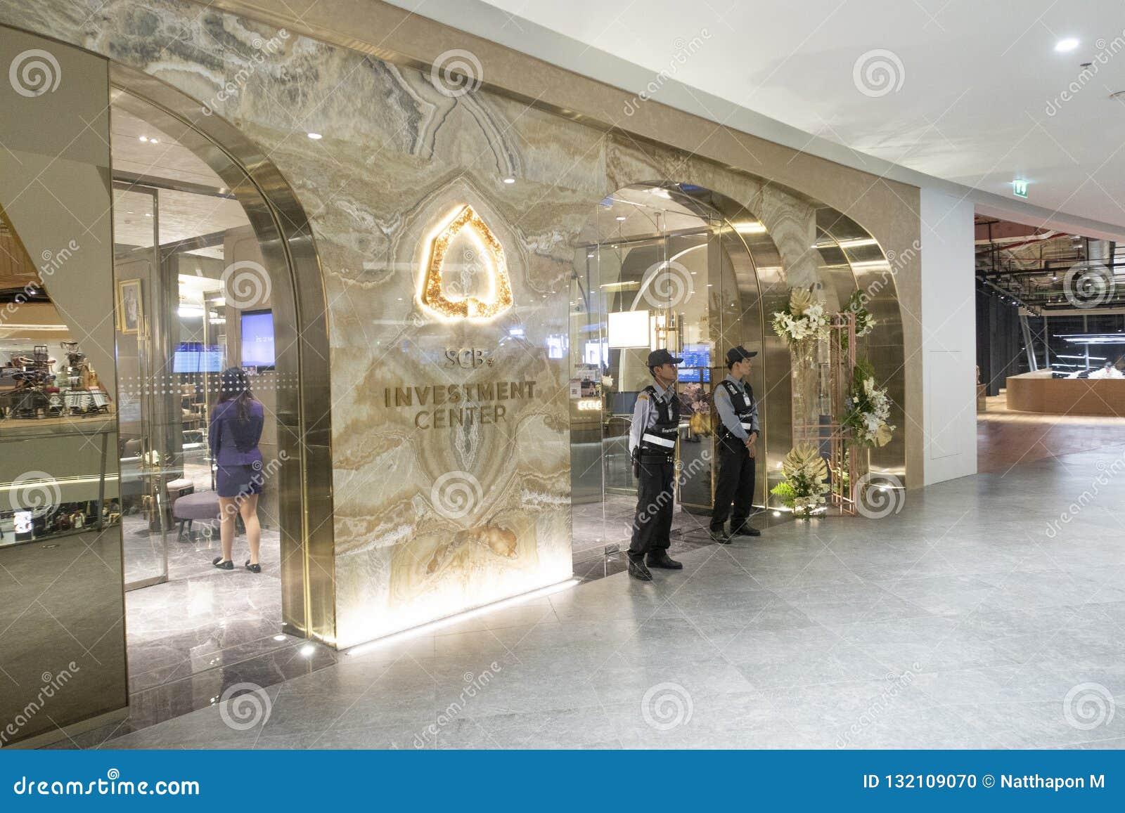 Bangkok, Thailand, November 12,2018: Siam Commercial Bank SCB