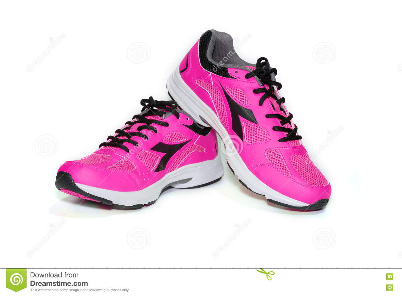 half off 98828 b46e2 BANGKOK,THAILAND-October 2 ,2016:Diadora New Pink Ultra ...