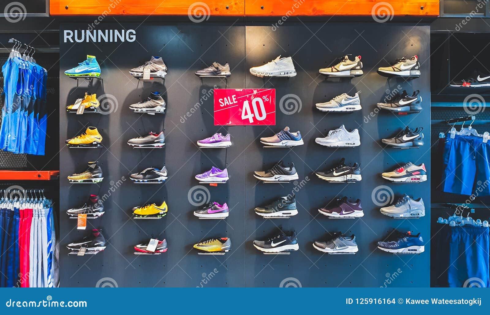 sitio de buena reputación encontrar mano de obra selección premium Bangkok, Thailand - Sep 11, 2018: Nike Running Shoes And Sport ...