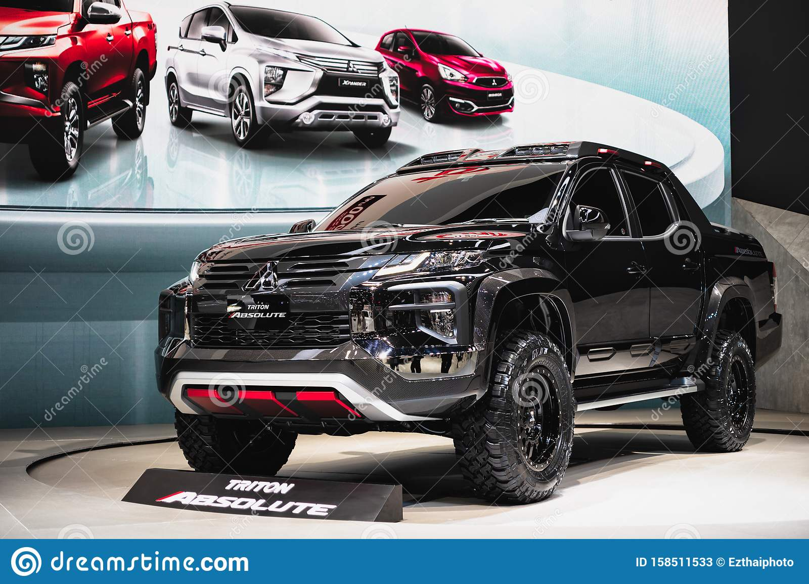 Bangkok Thailand September 14 2019 Mitsubishi New Triton Absolute Presented In Car Exhibition In Thailand Editorial Stock Photo Image Of Commercial Eevolution 158511533