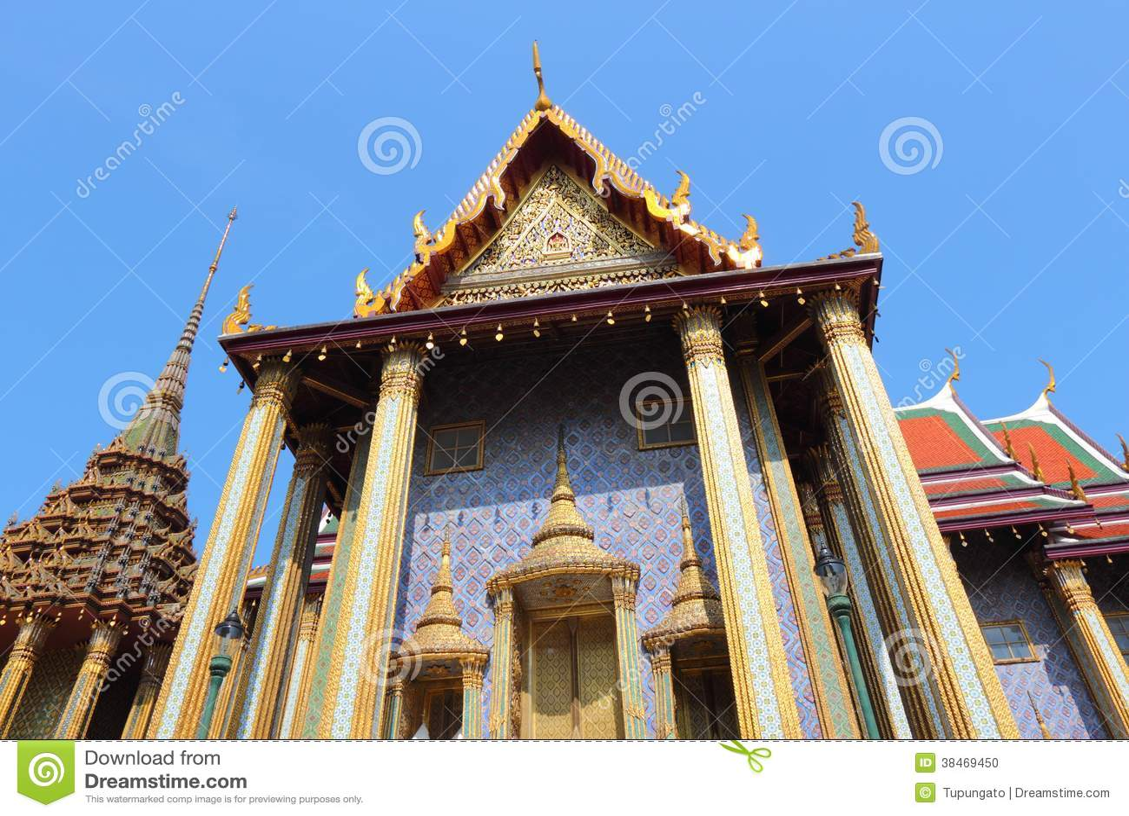 Bangkok stock photo image 38469450 for Wat architecture
