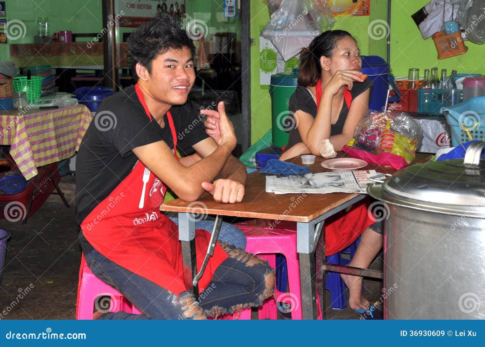 Bangkok, Thailand: Thai Restaurant Workers