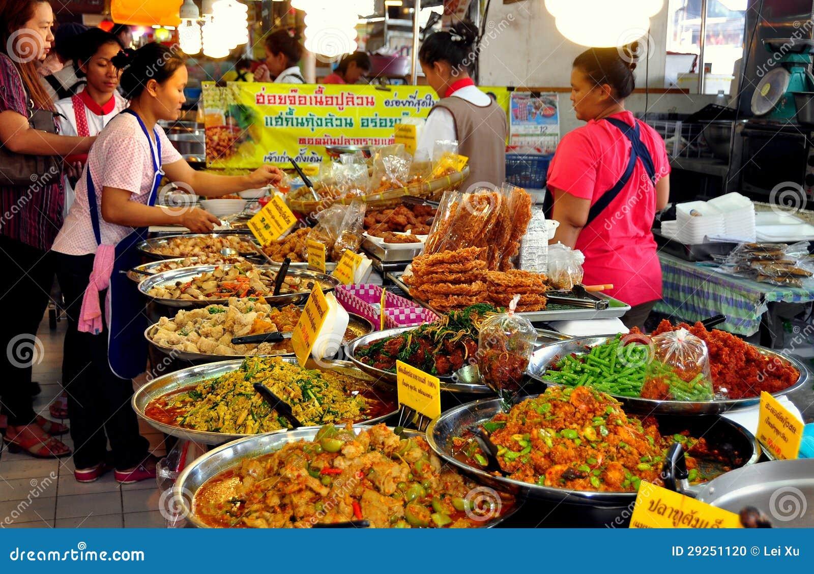 Bangkok, Thailand: Or Tor Kor Food Market Editorial Image - Image ...