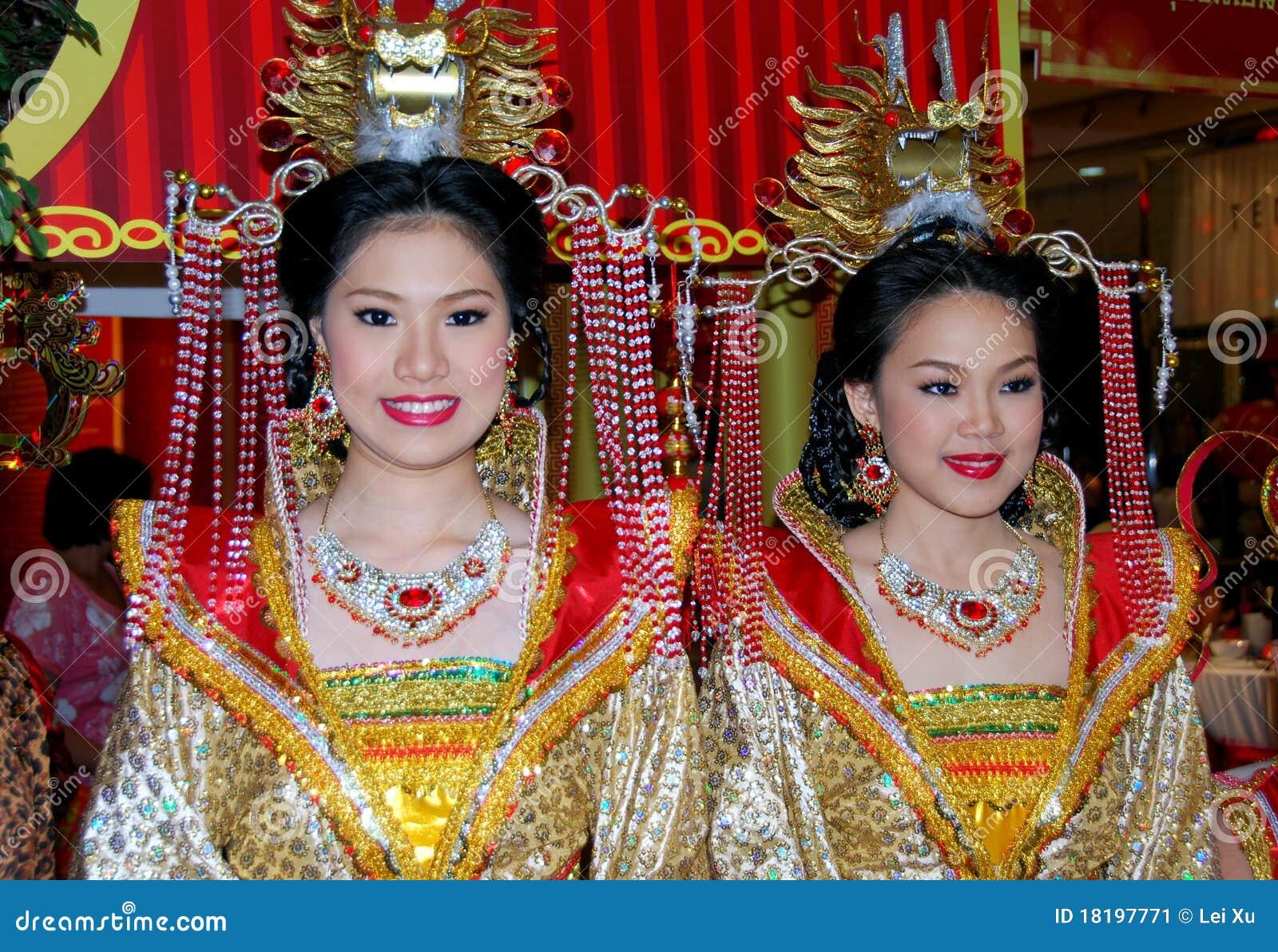 Chinese In Vrouwen Kleding Bangkok Redactionele Foto Thailand fq6Pwn0t