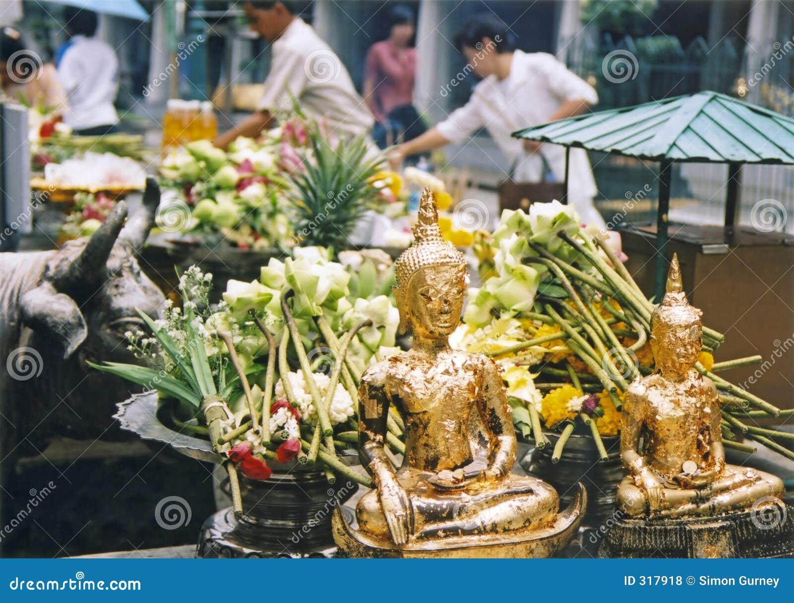 Bangkoks tysięcy ofiar pałacu.