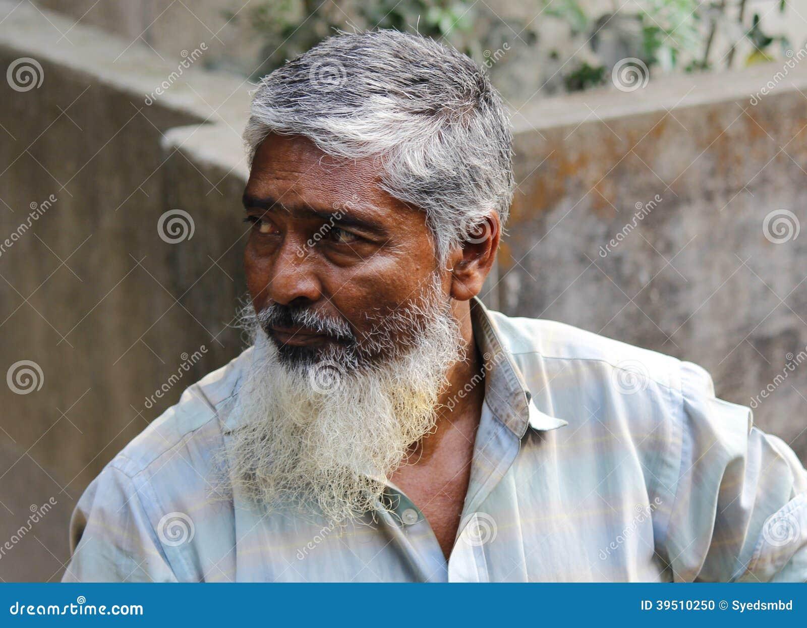 Bangladeshi old man