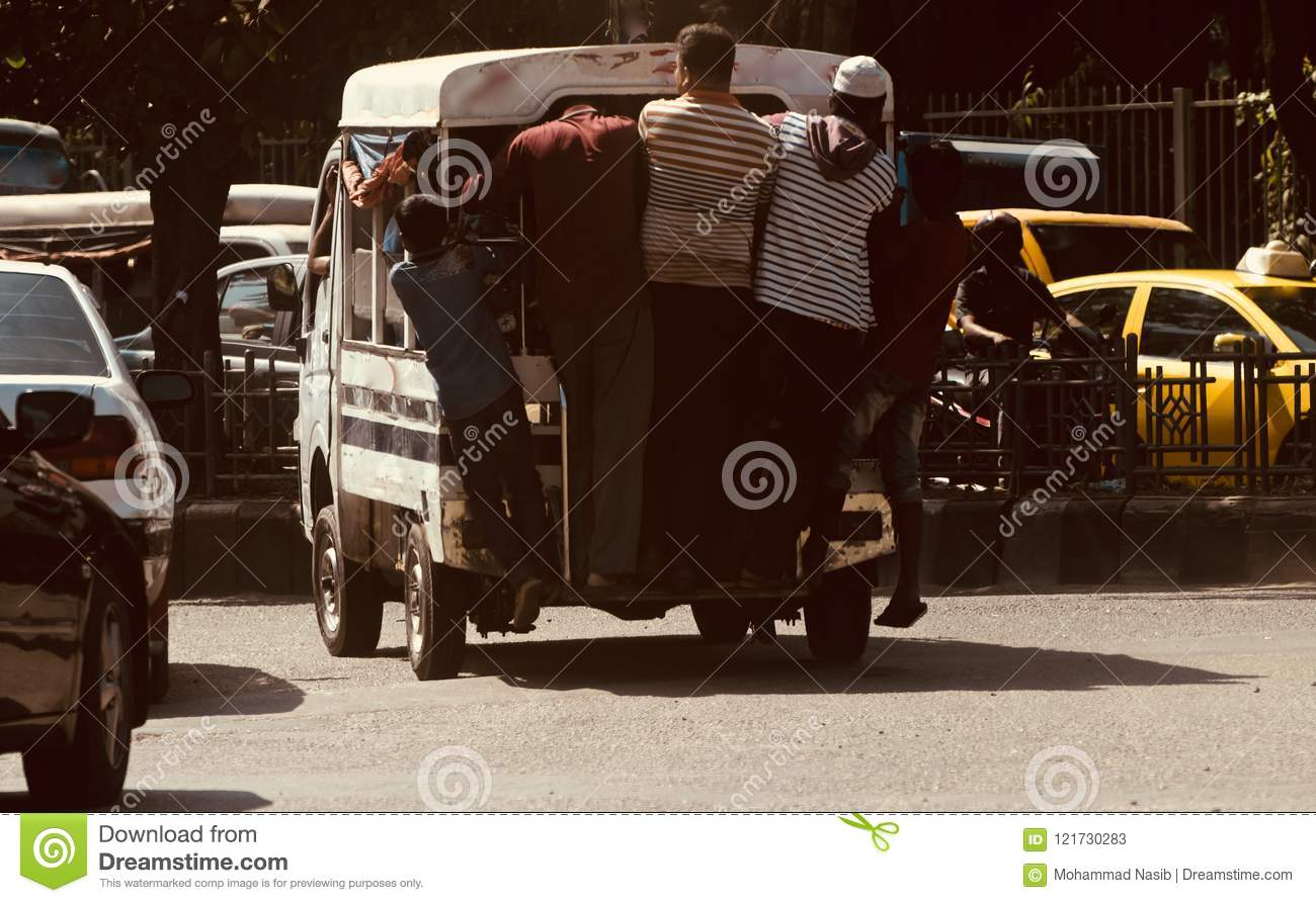 Download People Travelling On A Traditional Four Wheelers In Bangladesh Editorial Stock Photo - Image of transportation, traffic: 121730283