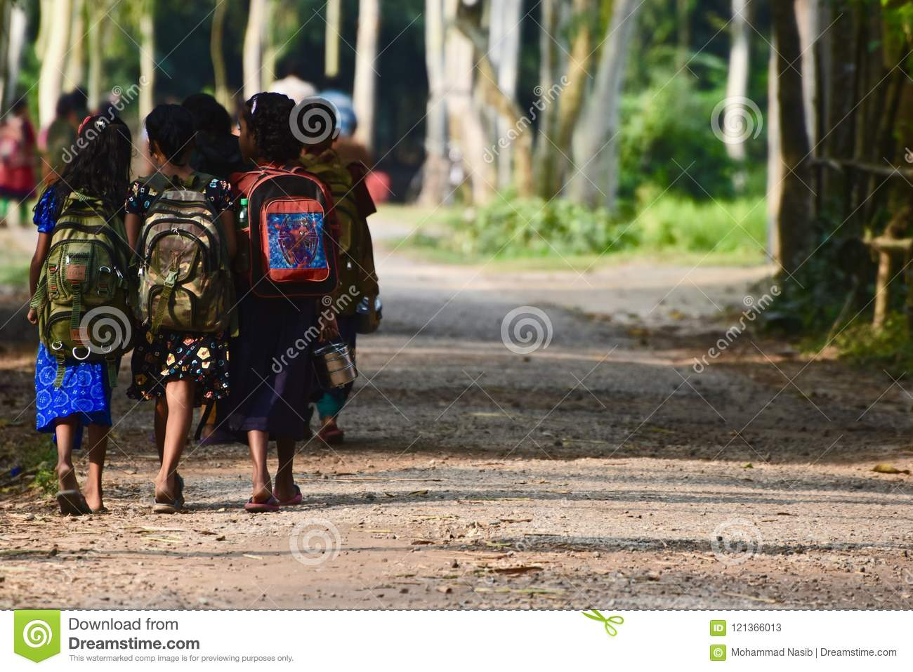 Download Young Kids Are Going To School In Bangladesh Unique Photo Editorial Stock Photo - Image of going, students: 121366013