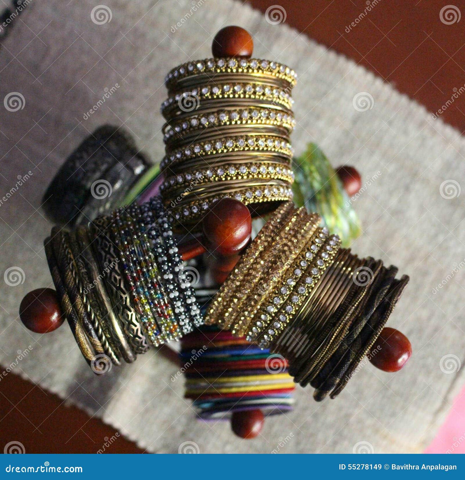 Bangle stand stock image. Image of bangles, gold, colour - 55278149