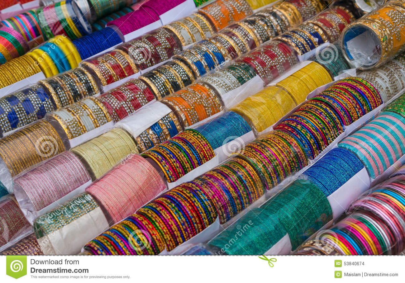 photo image in stock the of hyderabad close up safe to shop a at use bangle bangles laad india or market on bazaar display