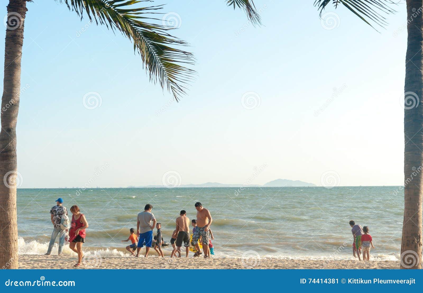 Bangsan海滩泰国, 5月, 2016个人放松