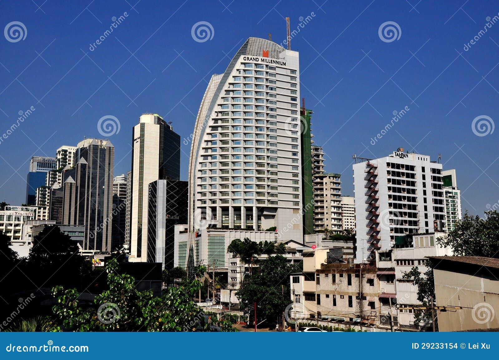 Download Banguecoque, Tailândia: Hotel Grande Do Milênio Imagem de Stock Editorial - Imagem de elevado, estrela: 29233154