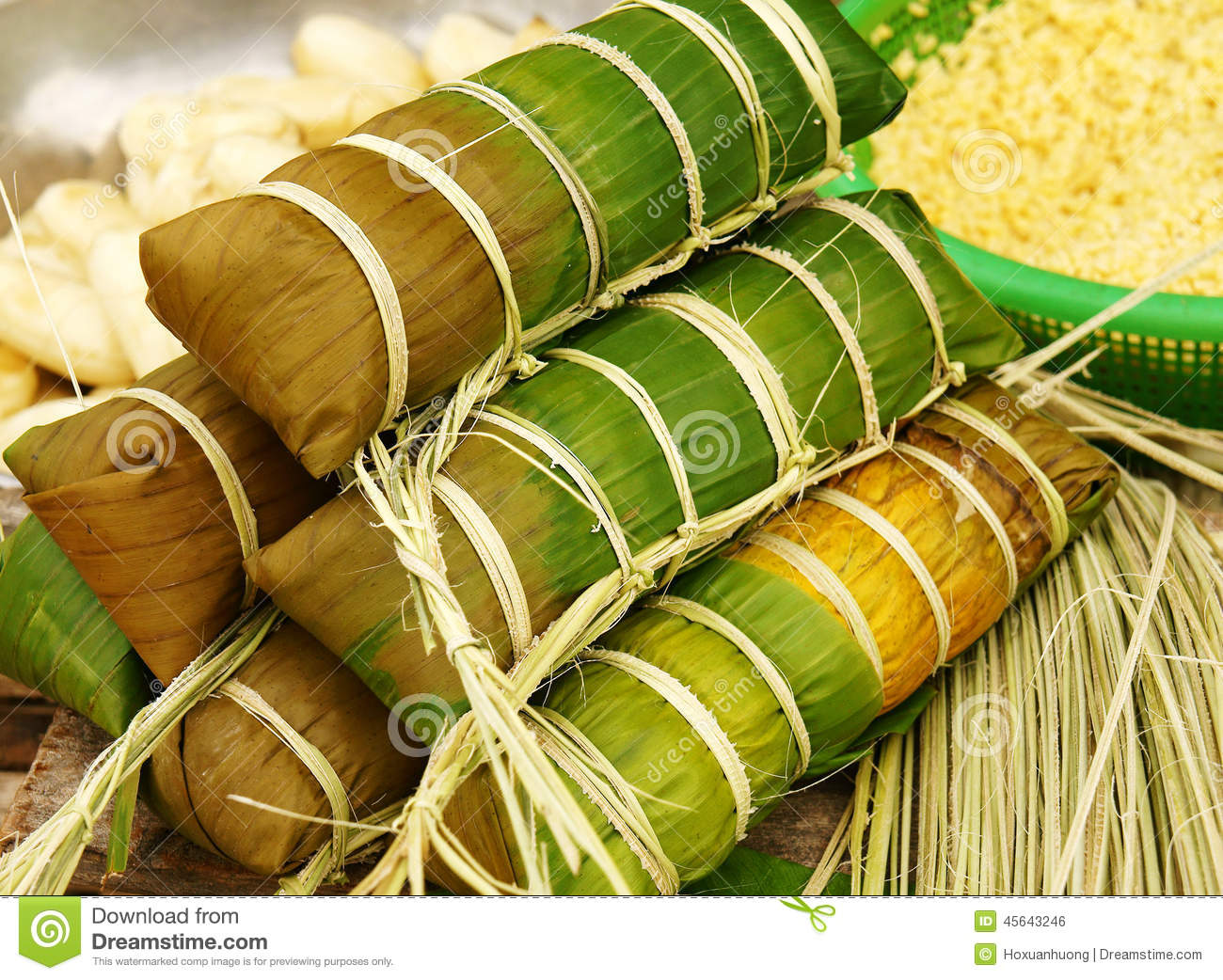 Traditional Food New Year Vietnam
