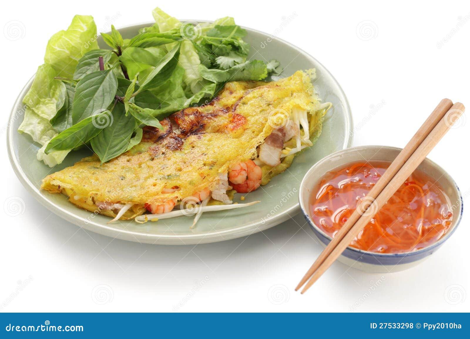 Banh Xeo, Vietnamesische Küche