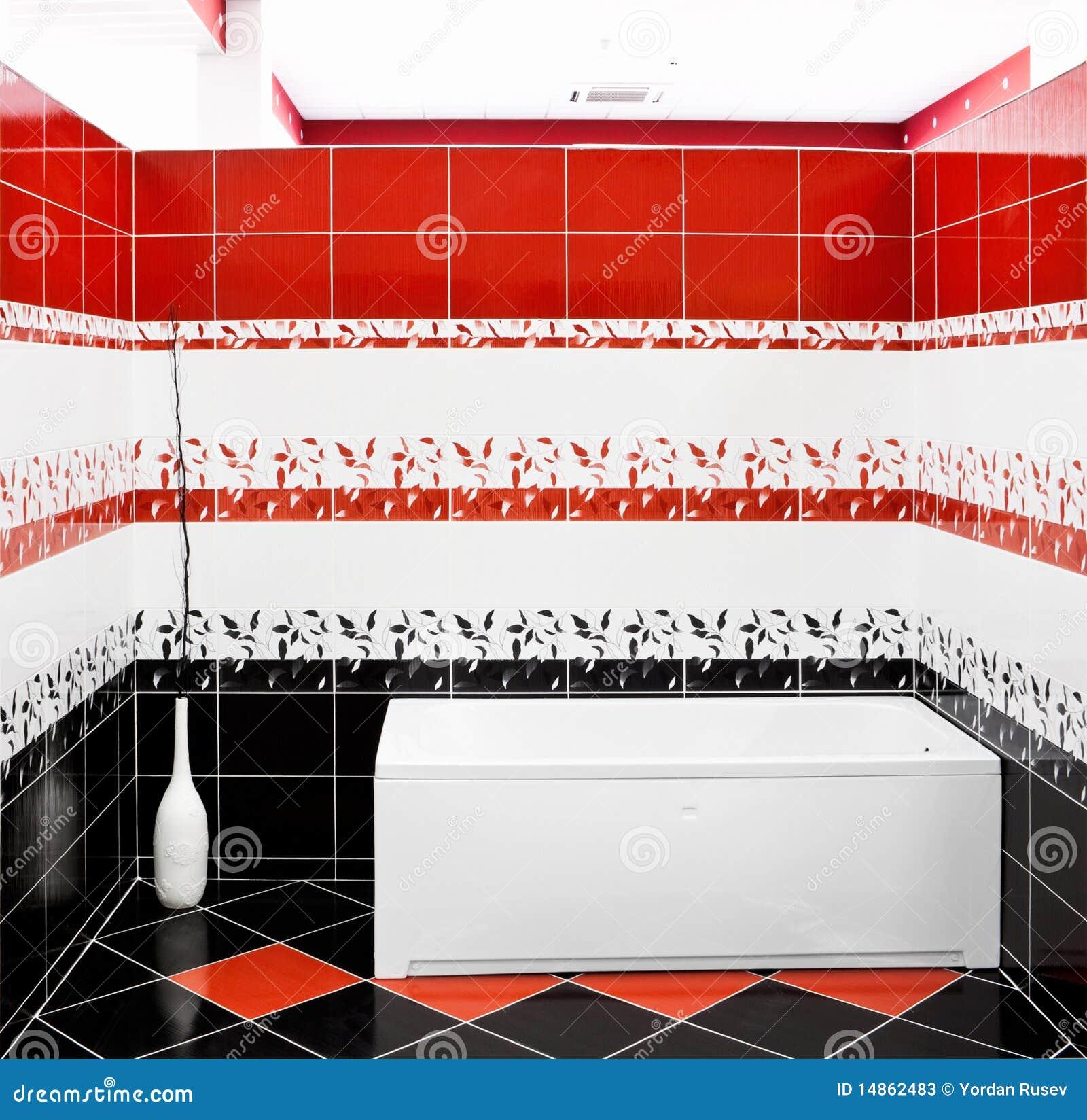Banheiro Com Banheira Fotos de Stock Imagem: 14862483 #BB1E10 1300 1356