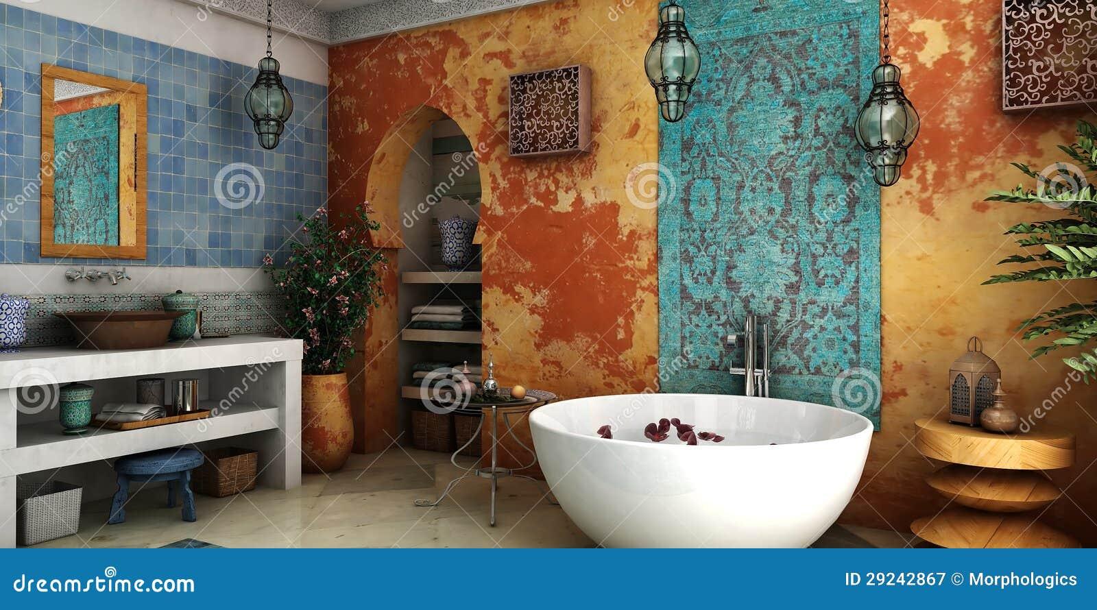 Download Banheiro do vintage ilustração stock. Ilustração de grunge - 29242867