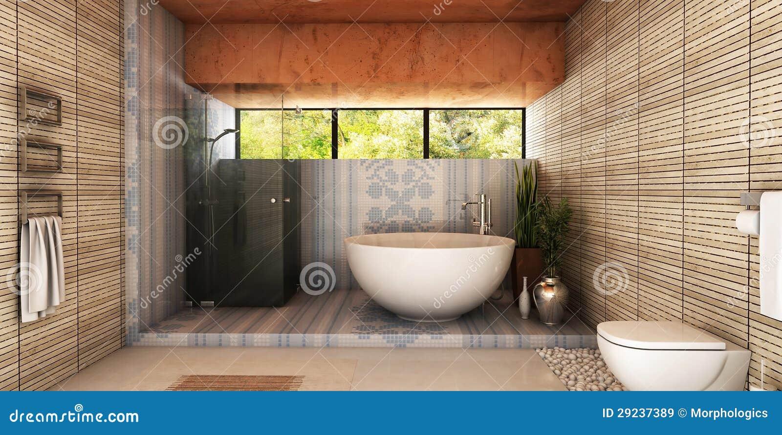 Download Banheiro dos termas ilustração stock. Ilustração de ornament - 29237389