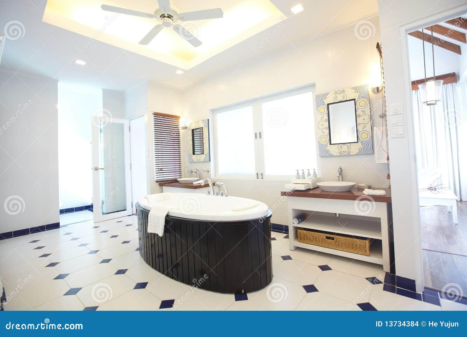 Banheiro Luxuoso Imagens de Stock Imagem: 13734384 #81A229 1300 957
