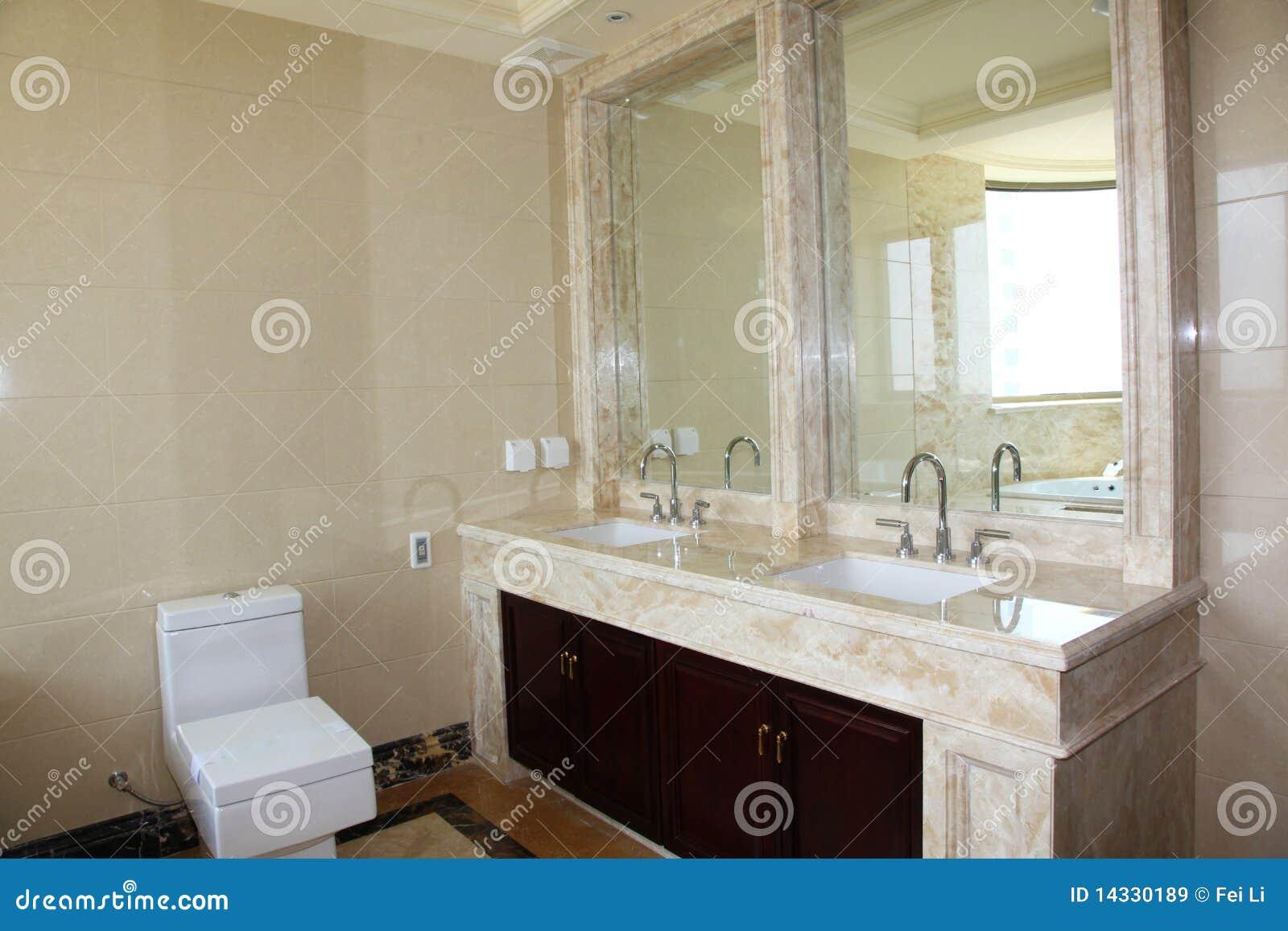 Banheiro Moderno Imagens de Stock Royalty Free  Imagem 14330189 -> Banheiro Moderno Com